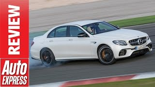 Download New Mercedes-AMG E 63 review: most powerful E-Class ever on road and track! Video