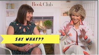 Download Jane Fonda and Mary Steenburgen full interviews for the movie Book Club Video