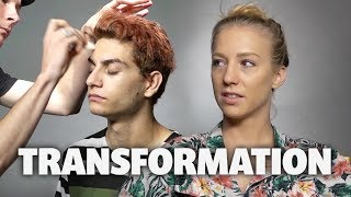 Download Elks Drug Awareness Makeup Transformation (Squad Vlogs) Video