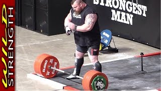 Download Eddie Hall Deadlift World Record 500kg (1102lbs) - Includes Full Aftermath!! Video