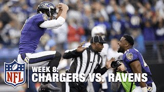 Download Justin Tucker's Dancing Ability is Undeniable After He Wins the Game! | Chargers vs. Ravens | NFL Video