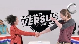 Download Versus: Immigrants / Republicans Take the US Citizenship Test - Episode 1 | Cut Video