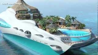 Download Tropical Island Luxury Yacht Video