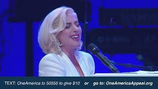 Download Lady Gaga - Million Reasons / Yoü and I / The Edge of Glory live at One America Appeal Video