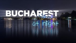 Download Bucharest at night | A Time Lapse/Hyper Lapse Film 4K Video