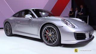 Download 2017 Porsche 911 Carrera S - Exterior and Interior Walkaround - 2015 Frankfurt Motor Show Video