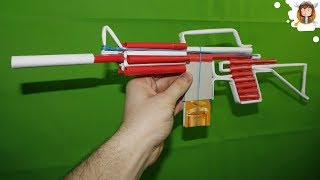 Download How to make a Paper M4 Assault Rifle that Shoots Video