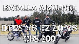 Download BATALLA A MUERTE   DT 125 VS FZ 150 VS CR5 200   DRAG RACE #FULLGASS Video