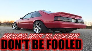 Download Don't get fooled when buying a foxbody mustang *KNOW WHAT TO LOOK FOR Video