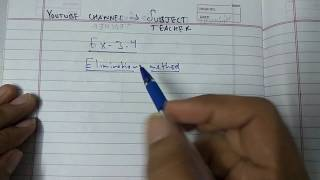 Download Chapter 3 exercise 3.4 pair of linear equations in two variables maths class 10 (N.C.E.R.T) Video