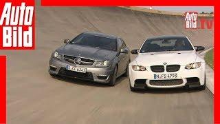 Download Mercedes C 63 AMG vs. BMW M3 - V8-Sauger-Coupés Video