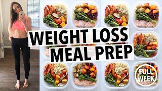 Download WEIGHT LOSS MEAL PREP FOR WOMEN (1 WEEK IN 1 HOUR) Video