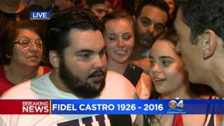Download Miami Mayor Tomas Regalado compares the death of Fidel Castro to that of Adolf Hitler Video