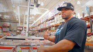Download Off-Season Grocery Shopping with 300lb Pro Bodybuilder Juan Morel Video