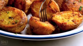 Download Perfectly Roasted Potatoes at Home With/ Without Oven Video