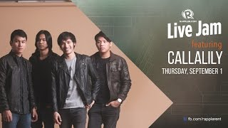 Download Rappler Live Jam: Callalily Video