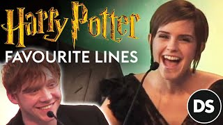 Download Harry Potter cast and producers remember their favourite lines Video