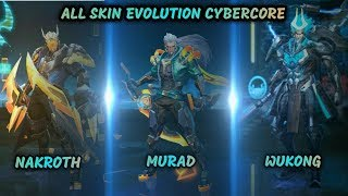 CYBERCORE NAKROTH - New Skin Preview | Preview Free Download Video