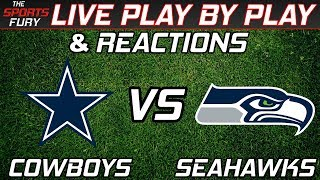 Download Dallas Cowboys vs Seattle Seahawks | Live Play-By-Play & Reactions Video