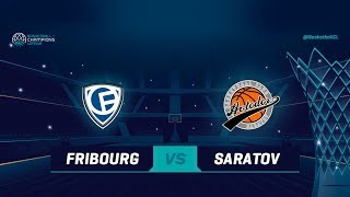 Download Fribourg Olympic v Avtodor Saratov - Full Game - Qualif. Rd. 1 - Basketball Champions League 2018-19 Video