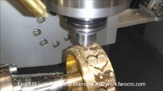 Download Faro F35 CNC making an Hearts Bangle Video
