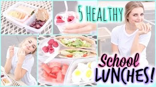 Download A Week of Healthy Lunch Ideas for Back to School! | Aspyn Ovard Video