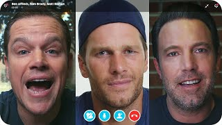 Download Matt Damon & Ben Affleck Fight Over Tom Brady's Friendship // Omaze Video