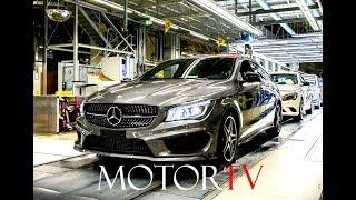 Download CAR FACTORY : MERCEDES-BENZ CLA & B-CLASS PRODUCTION (Clip & Footage) l Kecskemét Plant Hungary Video