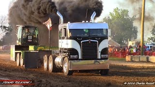 Download Semi Truck Pulls! 2018 Mount Pleasant Pull Video