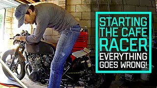 Download Cafe Racer Build Part 17, will it start? Everything goes wrong Video