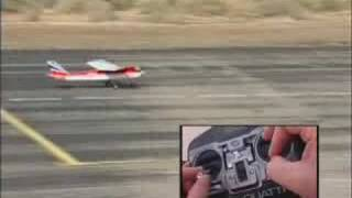Download Learn to fly, Rolling and Landing with RC model plaine Video