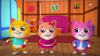 Download три маленьких котята детские рифмы для детей котята песня в России Cat Rhyme Three Little Kittens Video
