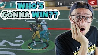 Download ONE POINT GAME COMES DOWN TO THE FINAL FEW SECONDS!! Madden 18 RTE ep. 7 Video