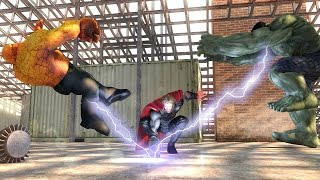 Download Hulk VS Thor VS Thing MEGA BATTLE! Video