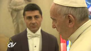 Download Papa Francesco incontra il regista Martin Scorsese Video