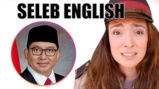 Download Fadli Zon, Nicholas Saputra, Luna Maya - Seleb English Video