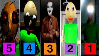 Download 5 NEW Baldi's Basics in Education and Learning Fan Games Video