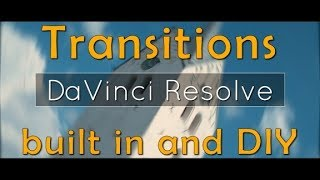 Download Video Transitions DaVinci Resolve (Zoom, Spin and more) Video