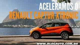 Download Aceleramos o Renault Captur 2018 com câmbio automático CVT X-Tronic - BlogAuto Video
