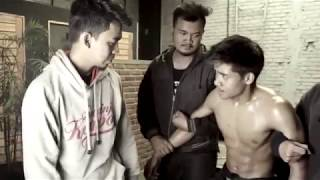 Download Hot Asian guy gets beaten and captured, gut punch in fight Video