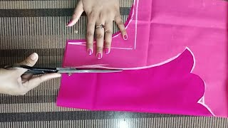 14f196bbc9ae2 Download Paithani blouse back neck design cutting and stitching  blouse  designs Video