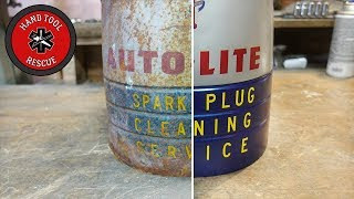 Download 1940s Spark Plug Cleaner [Restoration] Video