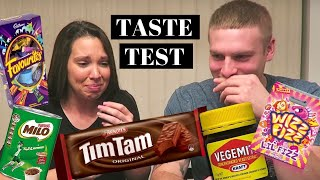 Download Americans try Australian snacks Video