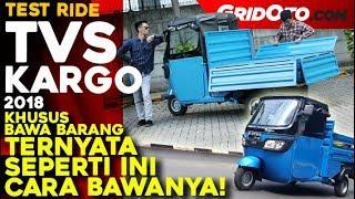 Download TVS Kargo I Test Ride Review   GridOto Video