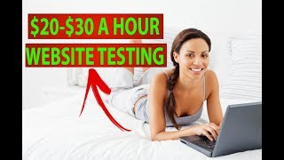 Download 3 Websites That Will Pay You $20-$30 an Hour (WEBSITE TESTING) Video