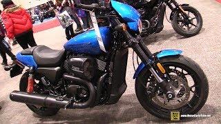 Download 2018 Harley Davidson Street Rod 750 - Walkaround - 2018 Toronto Motorcycle Show Video