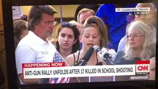Download Emma Gonzalez Full Speech At Anti-Gun Rally Ft. Lauderdale Florida Video