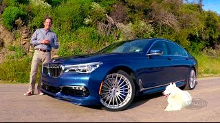 Download 2017 BMW Alpina B7 FIRST DRIVE REVIEW – A less perfect & brilliantly bonkers tuner car? (2 of 2) Video