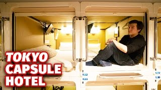 Download Staying at a Tokyo Capsule Hotel Video