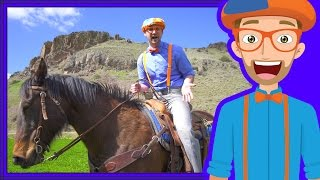 Download A Day On The Ranch for Kids | Blippi Axe Family | Videos for Children Video